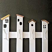 Для дома и интерьера handmade. Livemaster - original item Clothes hanger wall made of wood