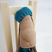 Куклы и игрушки ручной работы. Ярмарка Мастеров - ручная работа Заяц текстильный Захар. Handmade.