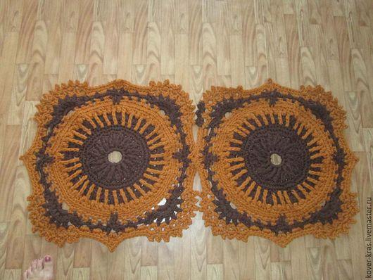 Текстиль, ковры ручной работы. Ярмарка Мастеров - ручная работа. Купить Коврик Каприз. Handmade. Ковер, ковер на пол