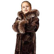Одежда детская handmade. Livemaster - original item Children`s fur Coat model 114. Handmade.