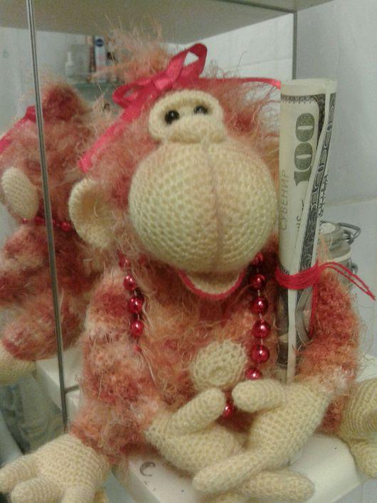 Игрушки животные, ручной работы. Ярмарка Мастеров - ручная работа. Купить Вязанная обезьяна. Handmade. Игрушка ручной работы