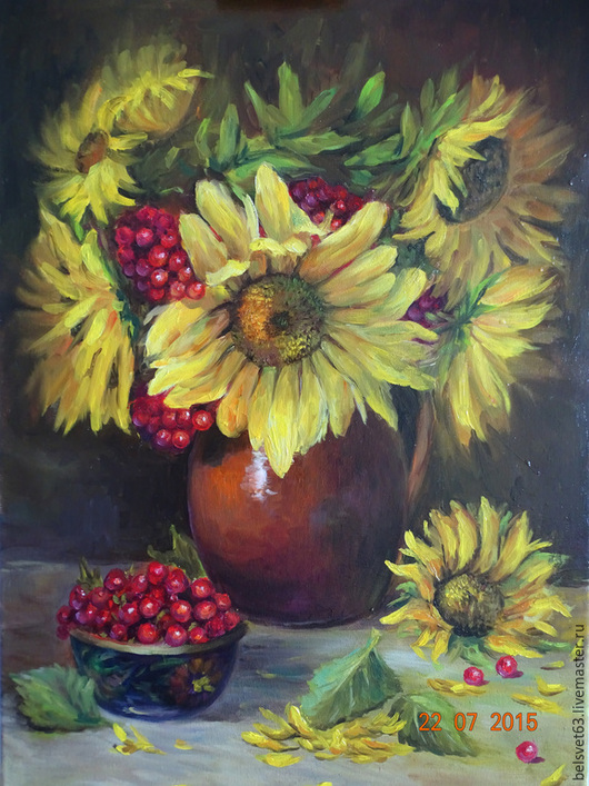 Svetlana Belova. Sunflowers