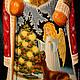 Сувениры ручной работы. Дед Мороз. Yaprosperity. Интернет-магазин Ярмарка Мастеров. Деревянный дед мороз, коллекционный сувенир, дерево
