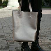 Классическая сумка ручной работы. Ярмарка Мастеров - ручная работа Шоппер. Handmade.