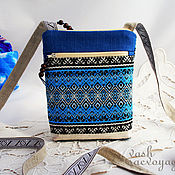 Сумки и аксессуары handmade. Livemaster - original item Slavic purse for phone,