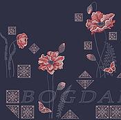 "Материалы для творчества handmade. Livemaster - original item Machine embroidery designs set ""Vintage Etude"" dense filling. Handmade."