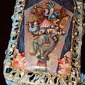 """Для дома и интерьера ручной работы. Ярмарка Мастеров - ручная работа Шкатулка """"Цирк"""". Handmade."""