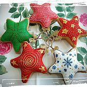 Для дома и интерьера ручной работы. Ярмарка Мастеров - ручная работа Ёлочные игрушки. Handmade.