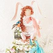 Куклы и игрушки ручной работы. Ярмарка Мастеров - ручная работа Принцесса на горошине Зайка. Handmade.
