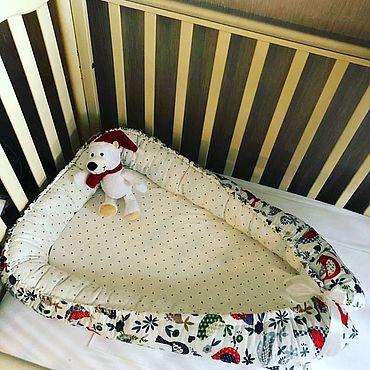 Works for children handmade. Livemaster - original item Nest for newborn. Handmade.