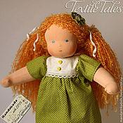 Куклы и игрушки ручной работы. Ярмарка Мастеров - ручная работа Вальдорфская кукла, Капелька Росы 34 см. Handmade.