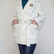 Одежда ручной работы. Ярмарка Мастеров - ручная работа Жакет из трикотажа.. Handmade.
