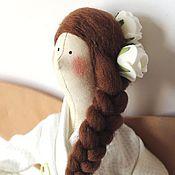 Куклы и игрушки ручной работы. Ярмарка Мастеров - ручная работа Банный ангел в стиле Тильда. Handmade.