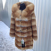 Одежда handmade. Livemaster - original item Fur coat Fox fur. Handmade.