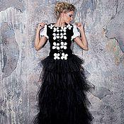 Одежда ручной работы. Ярмарка Мастеров - ручная работа Вечерний костюм с мехом. Handmade.