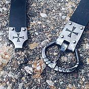 Субкультуры handmade. Livemaster - original item Buckle and shank for the belt. Handmade.