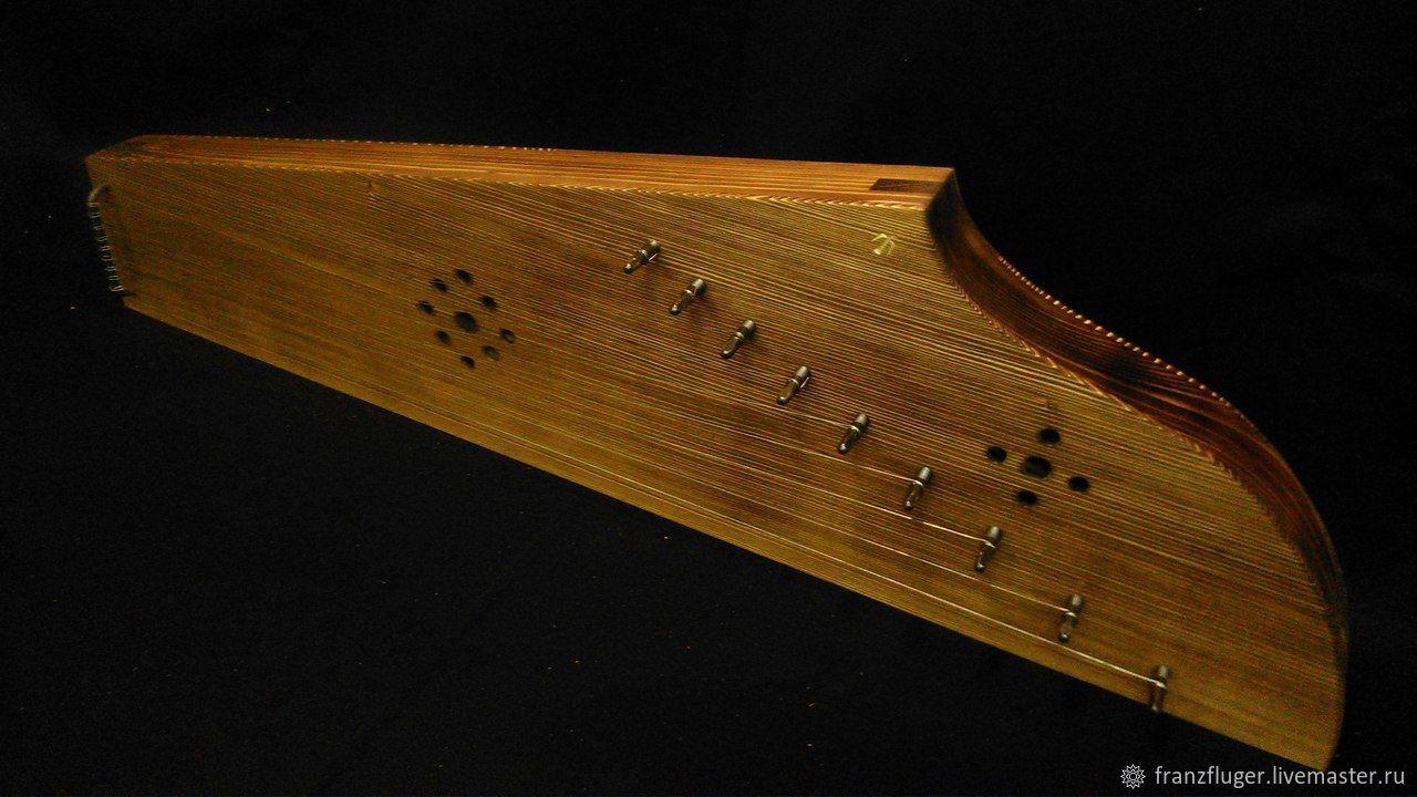 Струнные инструменты ручной работы. Ярмарка Мастеров - ручная работа. Купить Савельевские гусли (реплика). Handmade. Музыкальный инструмент, дерево