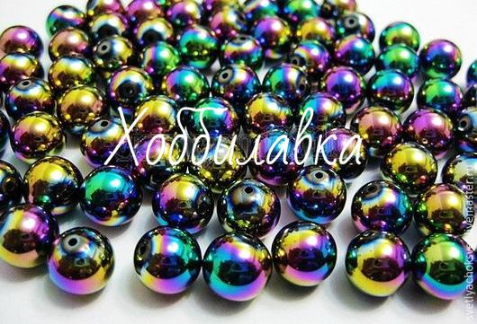 Гематит цветные глянцевые  бусины гладкий шар размер 4 мм цена 3 руб.шт.  размер 6 мм цена 5 руб. размер 10 мм цена 11 руб.шт.