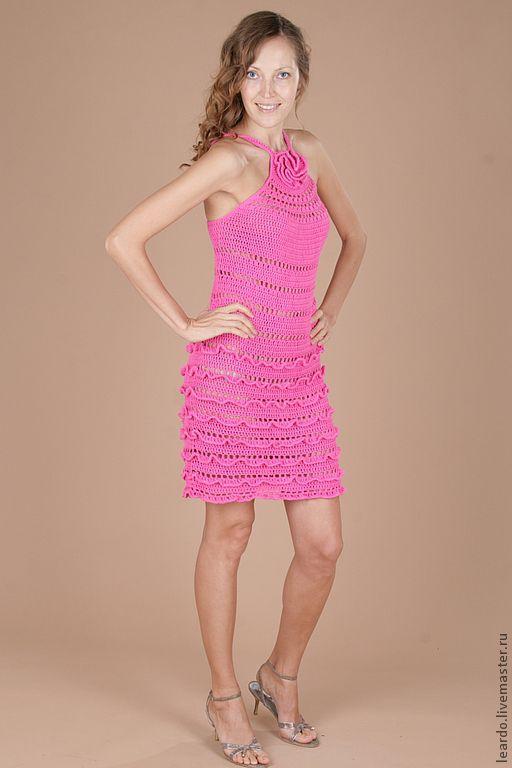 Платья ручной работы. Ярмарка Мастеров - ручная работа. Купить Платье арт. 12-2-8. Handmade. Розовый