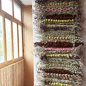 Русский стиль ручной работы. Ярмарка Мастеров - ручная работа Длинная дорожка сотканная из трав.. Handmade.