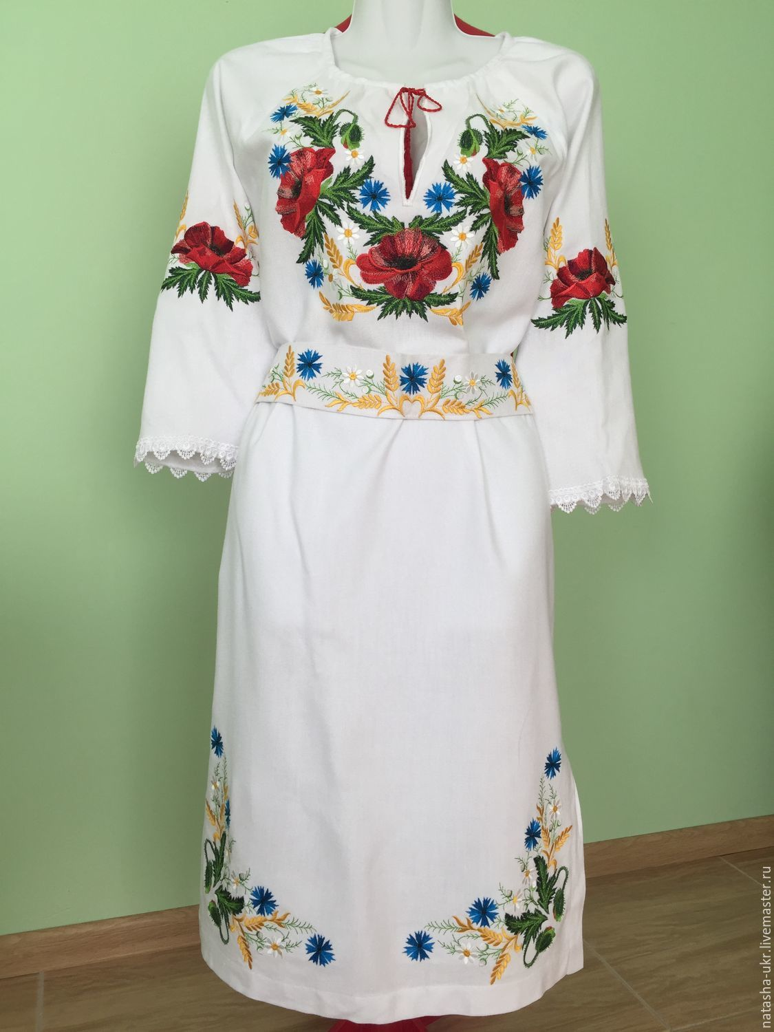 Embroidered dress workpiece for sewing shop online on for Embroidered work shirts online