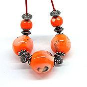 Украшения handmade. Livemaster - original item Necklace European lampwork. Handmade.