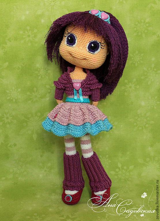 Мастер-класс вязаной куклы крючком
