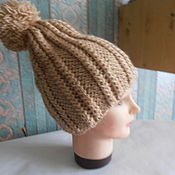 Аксессуары ручной работы. Ярмарка Мастеров - ручная работа шапочка для весны. Handmade.