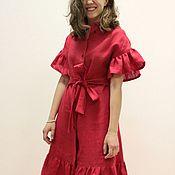 Платья ручной работы. Ярмарка Мастеров - ручная работа Красное платье Red Dress. Handmade.