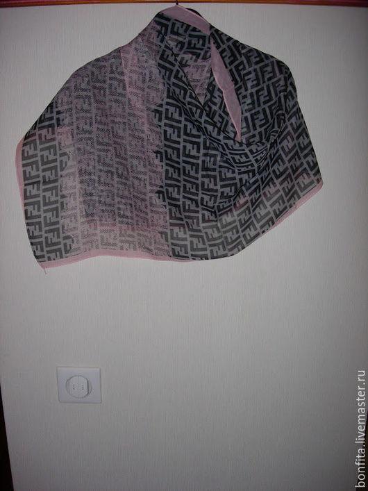 Шарфы и шарфики ручной работы. Ярмарка Мастеров - ручная работа. Купить Шарфик  шифон. Handmade. Комбинированный, платок, шерсть вискоза