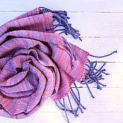 """Аксессуары ручной работы. Ярмарка Мастеров - ручная работа Шарф Lavender-Rose серия """"Мои краски"""" меринос/ангора. Handmade."""