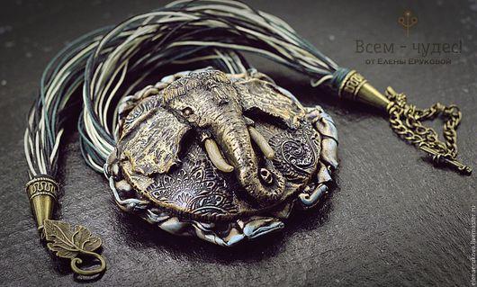 """Кулоны, подвески ручной работы. Ярмарка Мастеров - ручная работа. Купить Подвеска """"Слон"""". Handmade. Слон, подарок на любой случай"""