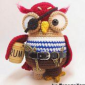 Куклы и игрушки ручной работы. Ярмарка Мастеров - ручная работа Сова Корсаретта. Handmade.