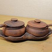 Посуда ручной работы. Ярмарка Мастеров - ручная работа Солонка-соусник. Handmade.