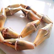Материалы для творчества handmade. Livemaster - original item Beads, shell, bamboo Liswa form. Handmade.