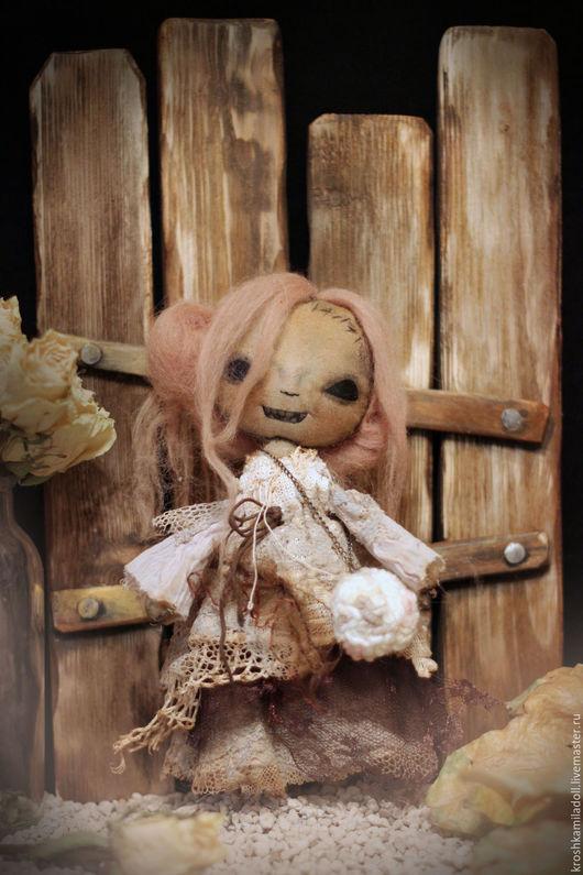 """Коллекционные куклы ручной работы. Ярмарка Мастеров - ручная работа. Купить Интерьерная кукла Зомби """"Баронесса Франкен-Фон-Штейн""""BoogeyDolls"""". Handmade."""