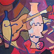 Картины и панно handmade. Livemaster - original item Picture. Abstract still life with violin. Handmade.