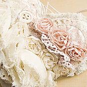 """Для дома и интерьера ручной работы. Ярмарка Мастеров - ручная работа Мягкая подвеска """" Шебби розы"""". Handmade."""