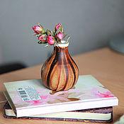 Для дома и интерьера ручной работы. Ярмарка Мастеров - ручная работа Мини вазочка. Handmade.