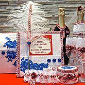Свадебный салон ручной работы. Ярмарка Мастеров - ручная работа Комплект свадебных аксессуаров в русском стиле. Handmade.