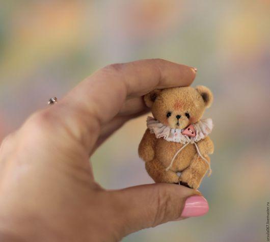 Мишки Тедди ручной работы. Ярмарка Мастеров - ручная работа. Купить Мальчик-с-Пальчик 4,5 см. Handmade. медвежонок