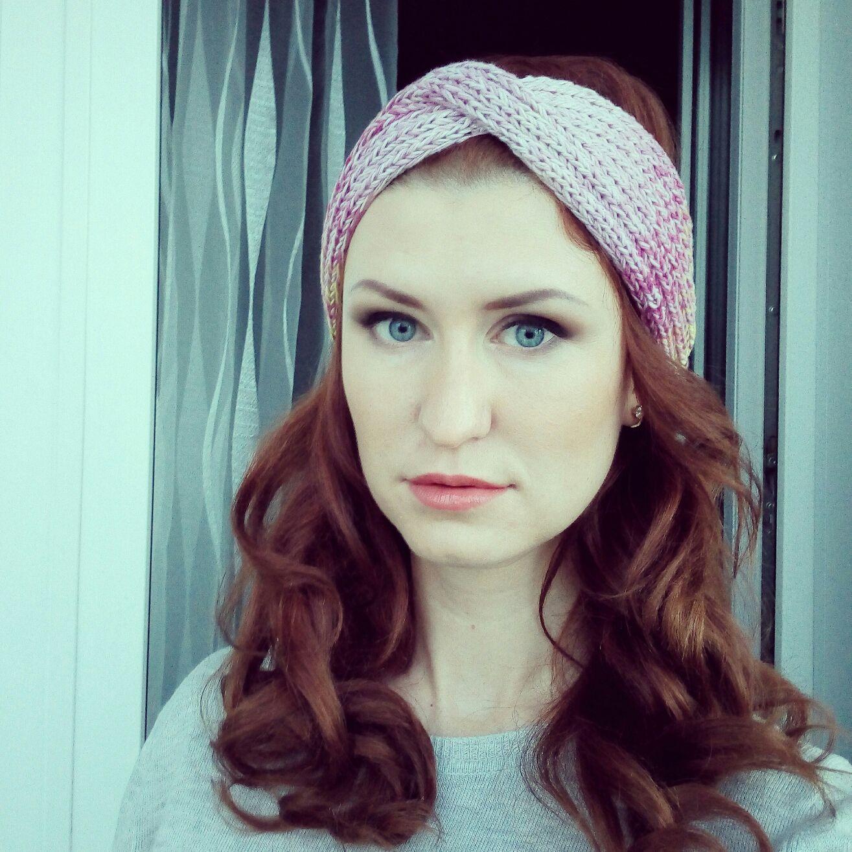 вязаная повязка на голову купить в интернет магазине на ярмарке