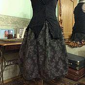 Одежда ручной работы. Ярмарка Мастеров - ручная работа Двусторонняя бохо юбка баллон. Handmade.
