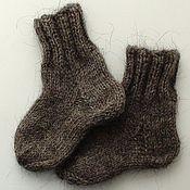 Работы для детей, ручной работы. Ярмарка Мастеров - ручная работа Теплые носочки. Handmade.