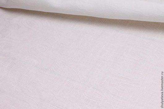 """Текстиль, ковры ручной работы. Ярмарка Мастеров - ручная работа. Купить Скатерть """"Торжественная"""". Handmade. Скатерть, скатерть круглая, лен"""