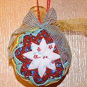 Подарки к праздникам ручной работы. Ярмарка Мастеров - ручная работа Новогодний шар. Handmade.