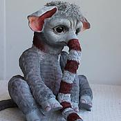 Куклы и игрушки ручной работы. Ярмарка Мастеров - ручная работа Новый Носкоед Чупчик. Handmade.