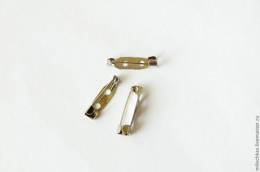 Другие виды рукоделия ручной работы. Ярмарка Мастеров - ручная работа. Купить FZ-10 Основа для броши, 5x20мм. Handmade.