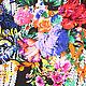 Топы ручной работы. Майка цветочный букет арт.1219. JEFFA. Интернет-магазин Ярмарка Мастеров. Женская одежда
