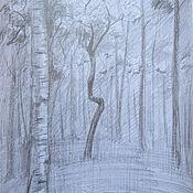 Картины и панно ручной работы. Ярмарка Мастеров - ручная работа Настойчивое дерево. Handmade.